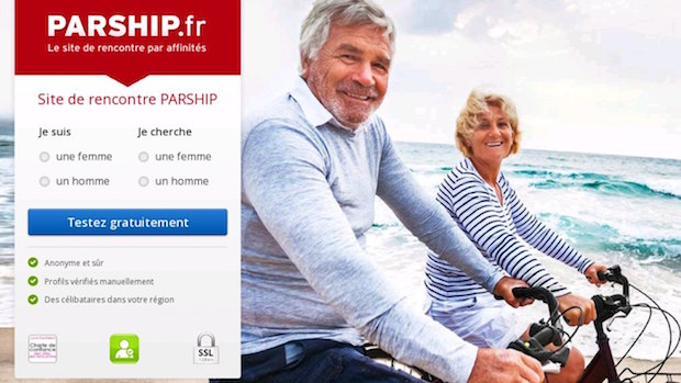 Meilleur site de rencontre haut de gamme pour seniors : parship.