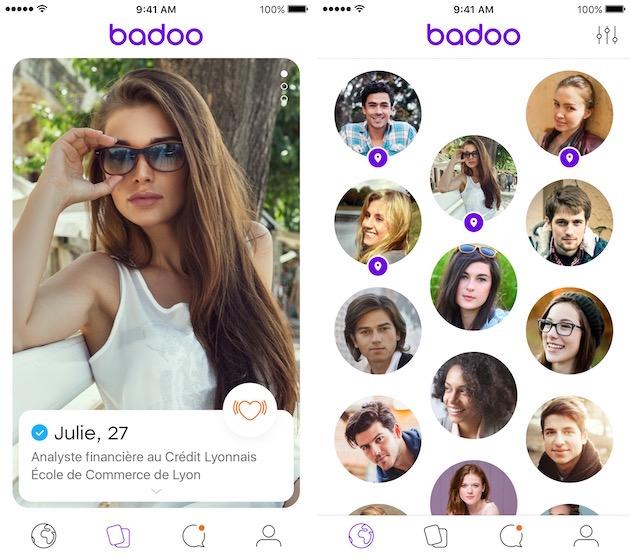 Avantages de Badoo.