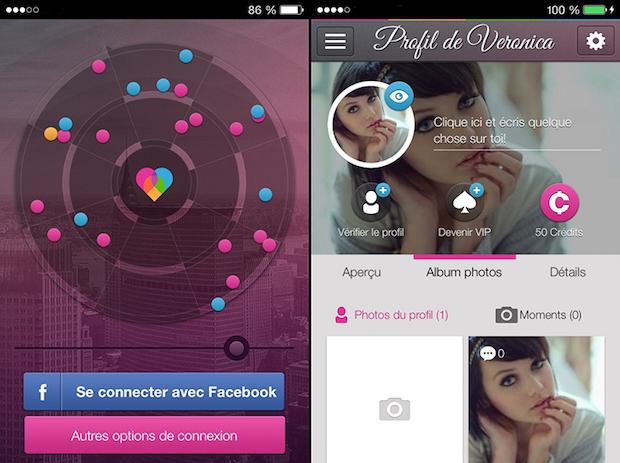 Profil sur Lovoo.