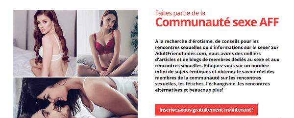 communauté adultfriendfinder